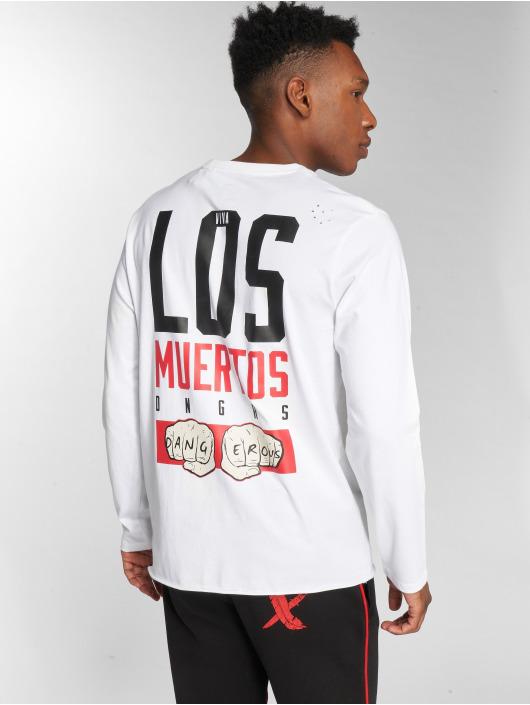 Dangerous DNGRS Longsleeve LosMuertos white