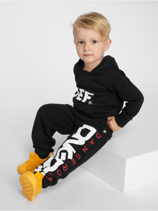 Dangerous DNGRS Sweat Pant Classic Junior black