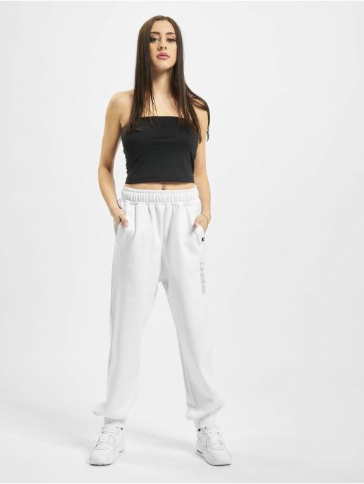 Dangerous DNGRS Sweat Pant Soft Dream Leila Ladys Logo white