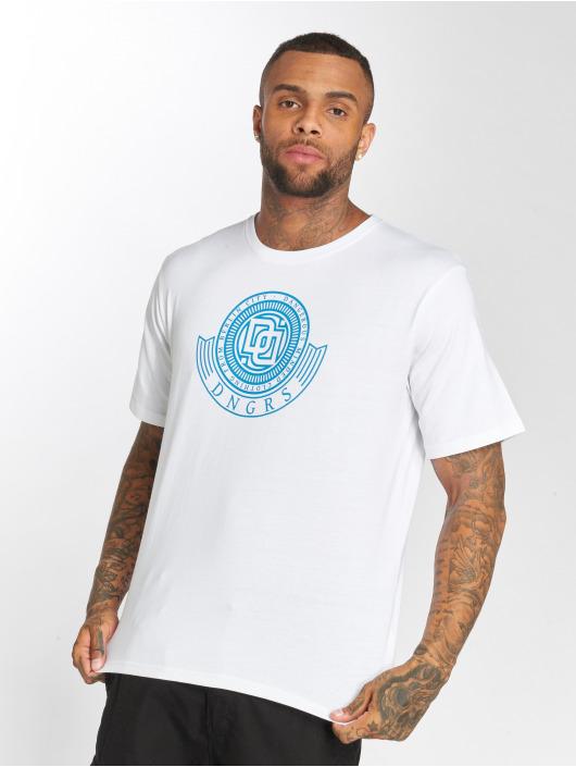 Dangerous DNGRS T-Shirt Signed white