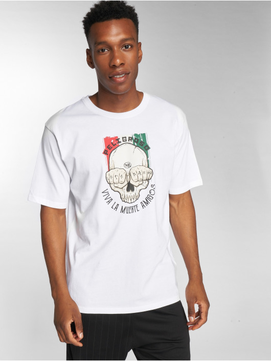 Dangerous DNGRS T-Shirt Peligroso white