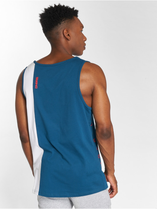 Dangerous DNGRS Tank Tops Brook blue
