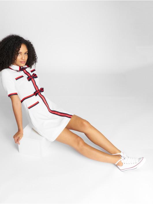 Danity Paris Dress Copun white
