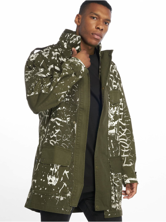 De Ferro Coats Army Of Paint green