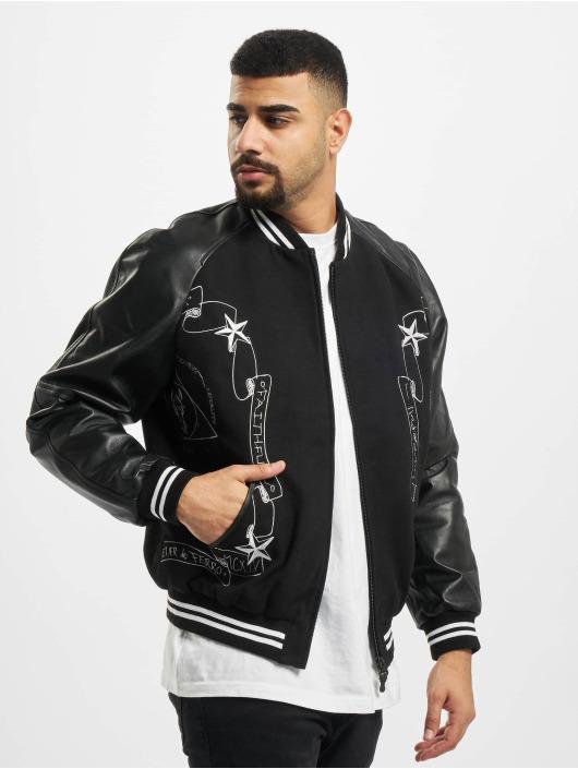 De Ferro Leather Jacket Fantasy Black Bsj black