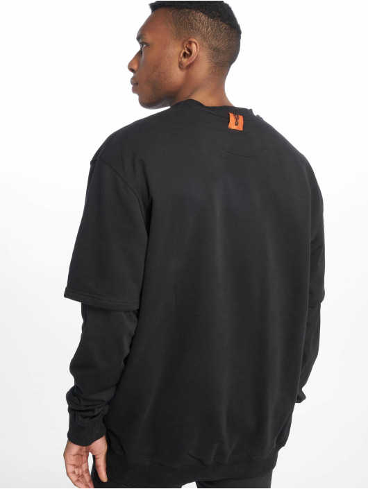 De Ferro Pullover Arm B Wanted black