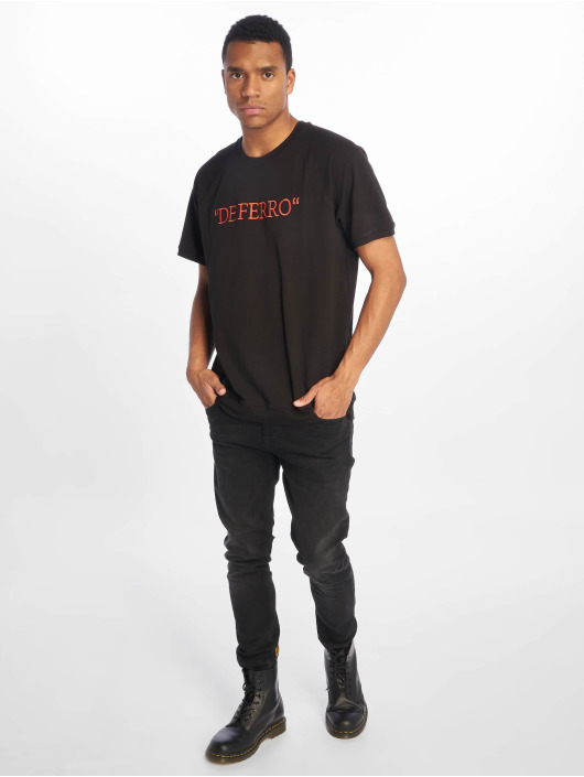 De Ferro T-Shirt Deferrp Piece black