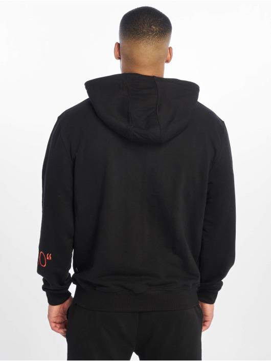 De Ferro Zip Hoodie Deferro Zip black