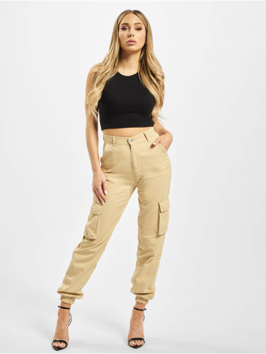 DEF Cargo pants Ruby beige