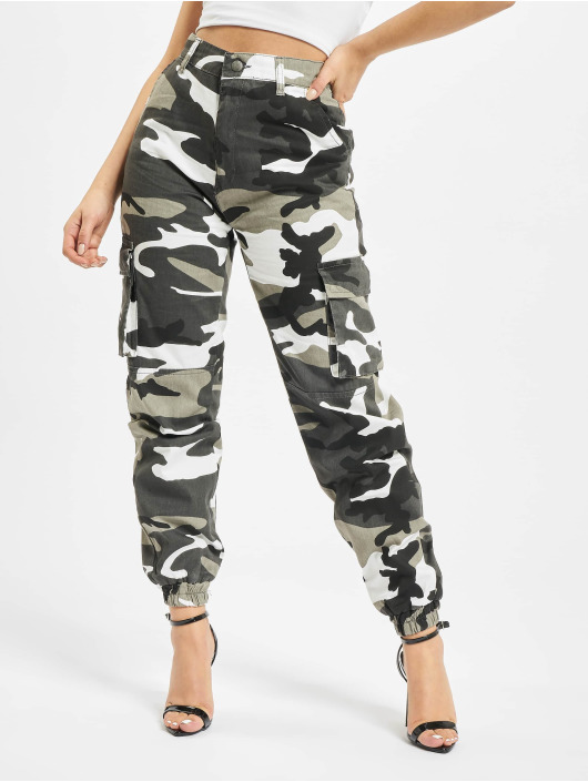 DEF Cargo pants Ruby camouflage