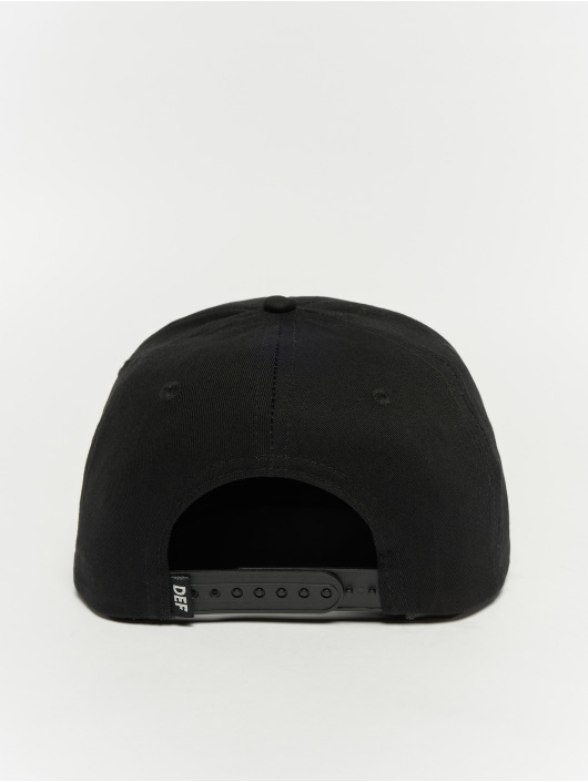 DEF Snapback Cap Logo black