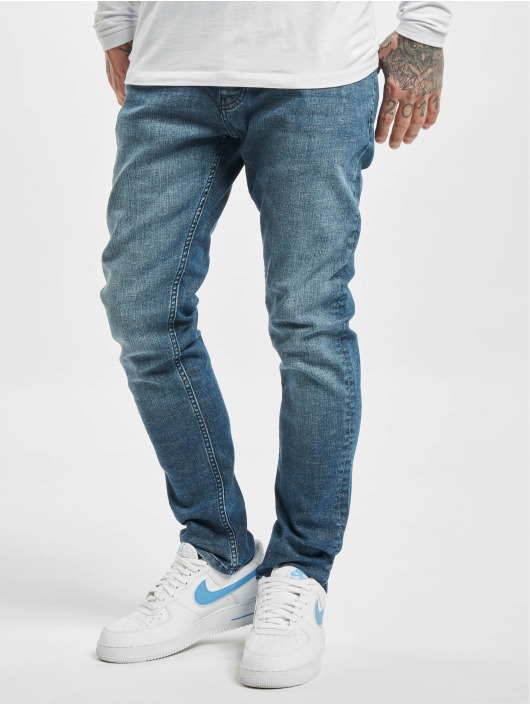 DEF Straight Fit Jeans Silvio blue