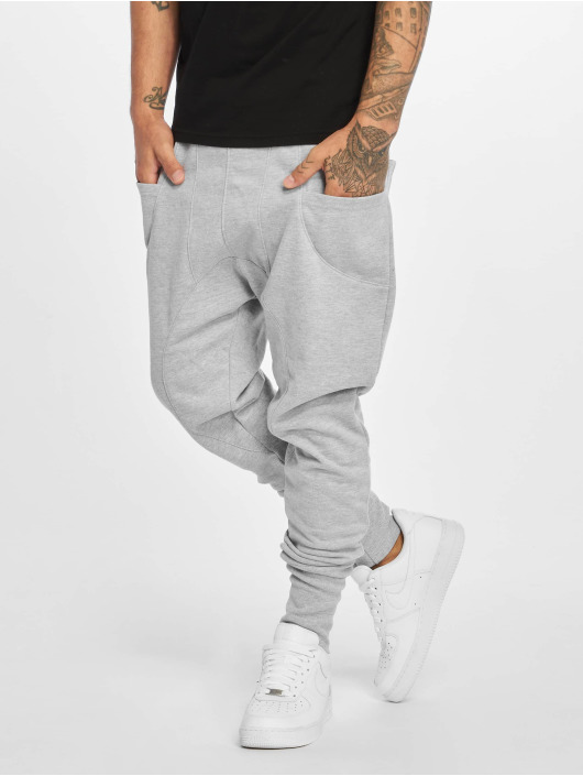 DEF Sweat Pant Birds gray