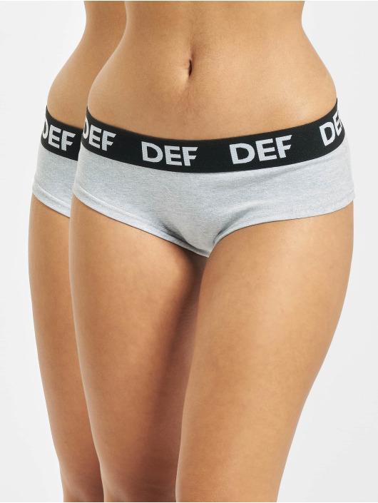 DEF Underwear 2er Pack gray