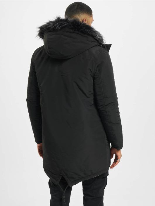 DEF Winter Jacket Rich black