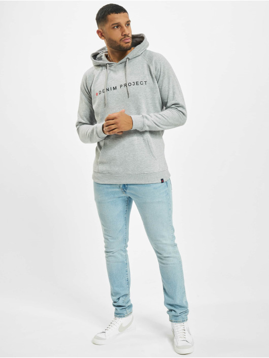 Denim Project Hoodie Logo gray