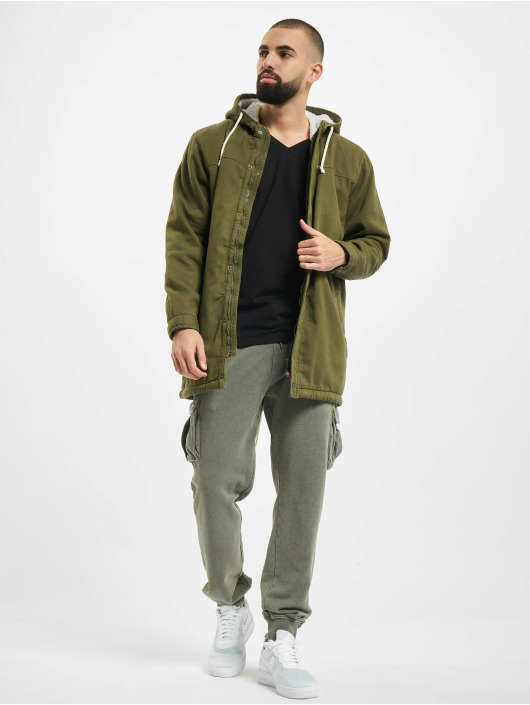 Denim Project Parka Teddy olive