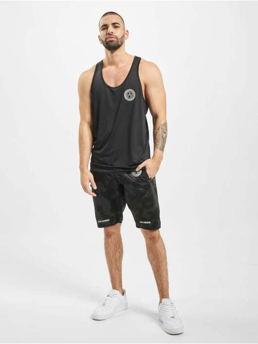 Deus Maximus Sports Tanks Muscle Stringer black