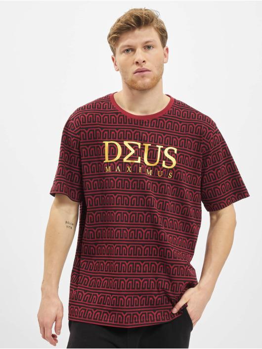 Deus Maximus T-Shirt Erato red