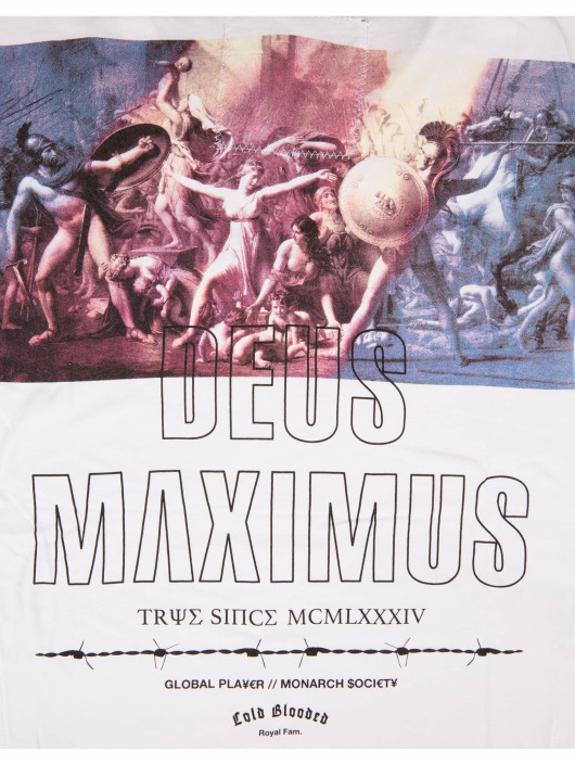 Deus Maximus T-Shirt Private World white