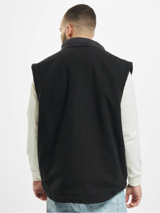 Dickies Lightweight Jacket Sherpa Lined Vest black