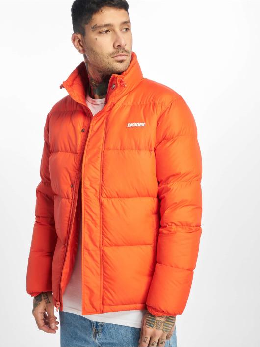 Dickies Puffer Jacket Oakvale orange