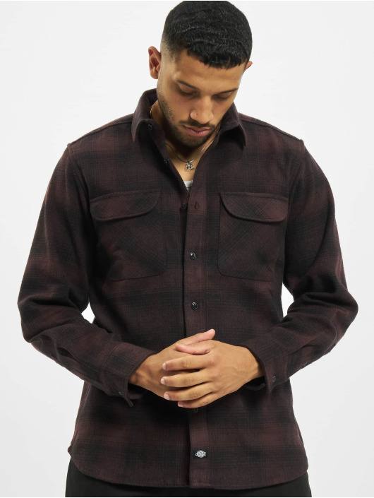 Dickies Shirt Plesent Hill red