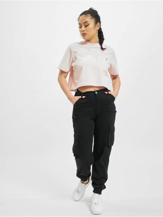 Dickies T-Shirt Porterdale Crop pink