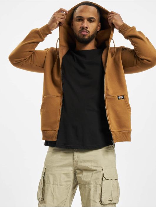 Dickies Zip Hoodie New Kingsley brown