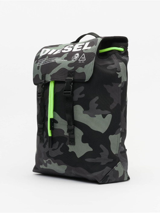 """Diesel Backpack """"Thisbagisnotatoy"""" Volpago camouflage"""