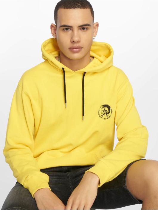 Diesel Hoodie UMLT-Brandon yellow