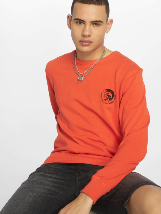 Diesel Pullover UMLT-Willy orange
