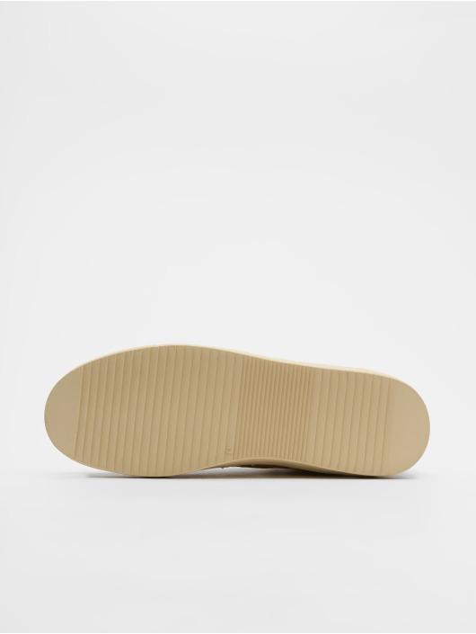 Djinns Sneakers Highwaik Fur Suede beige