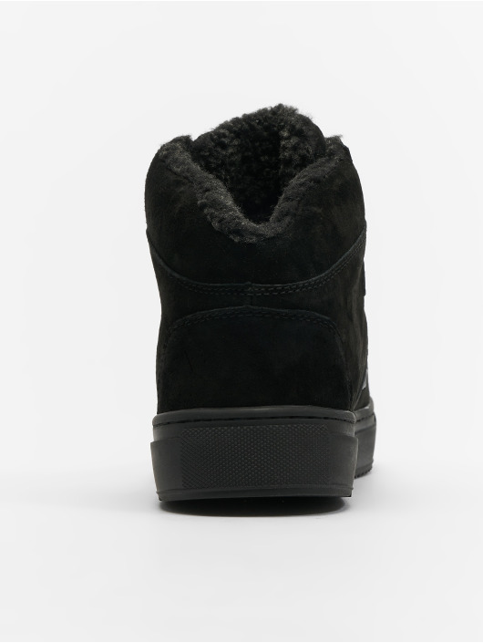 Djinns Sneakers Highwaik Fur black