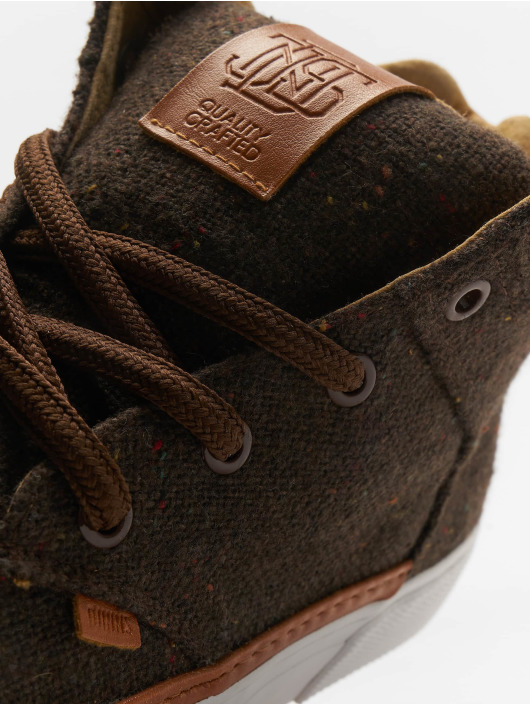 Djinns Sneakers Chunk Spotted Edge brown