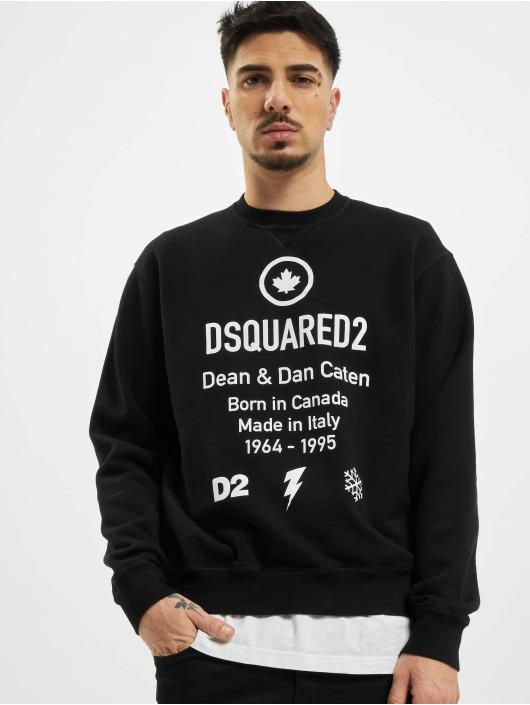 Dsquared2 Pullover Leaf black
