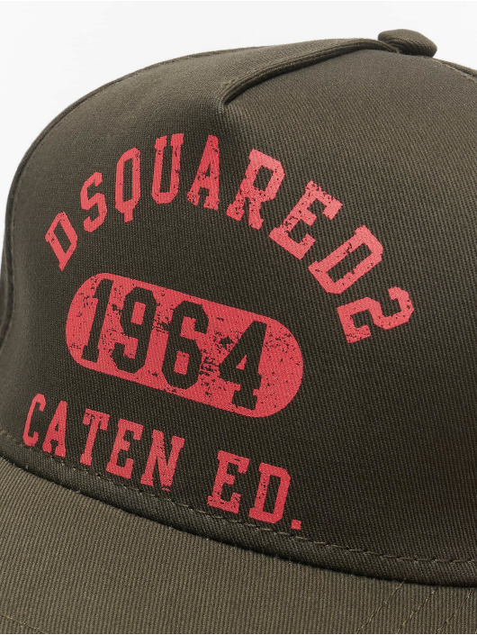 Dsquared2 Snapback Cap Caten Ed. khaki