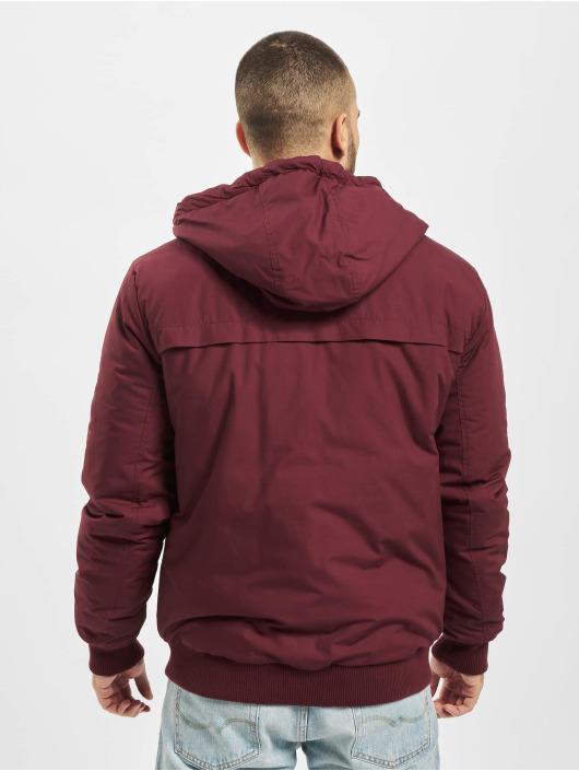 Eight2Nine Lightweight Jacket Hooded red