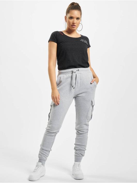 Eight2Nine T-Shirt Lazy black