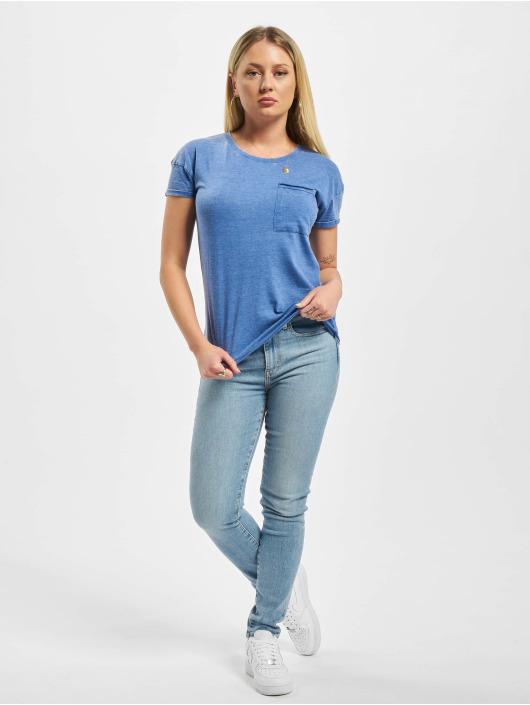 Eight2Nine T-Shirt Pockets blue