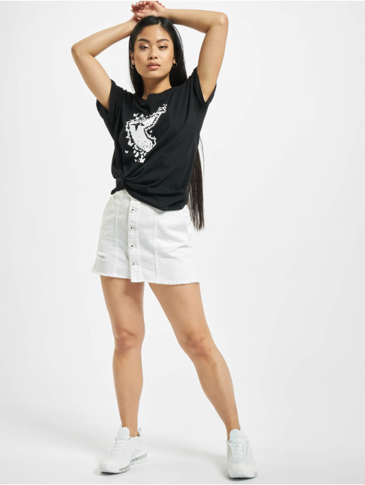 Famous Stars and Straps T-Shirt Ladies Better Days black