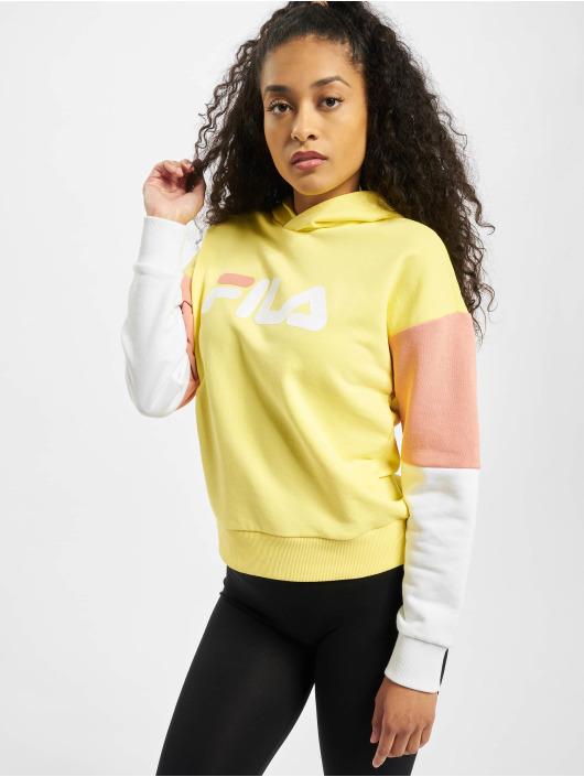 FILA Hoodie Barret Cropped yellow