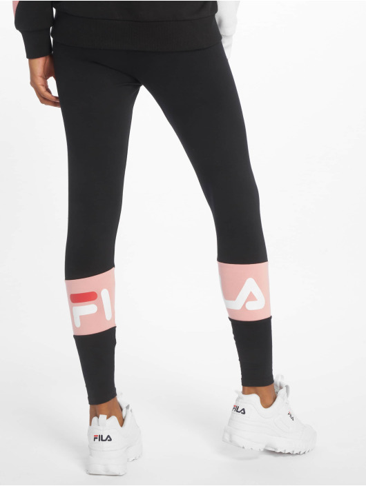 FILA Leggings/Treggings Dina Back Seem black