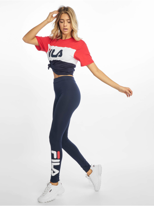 FILA Leggings/Treggings Urban Line Q141 Flex 2.0 blue