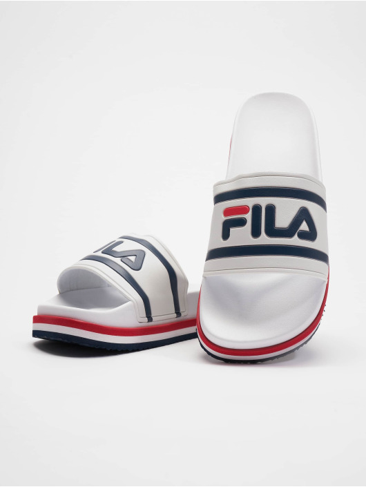 FILA Sandals Heritage Morro Bay Zeppa white