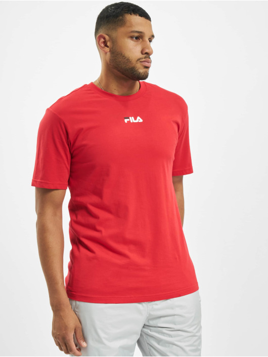 FILA T-Shirt Bianco Sayer red