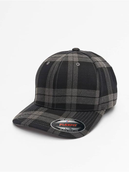 Flexfit Flexfitted Cap Tartan Plaid black