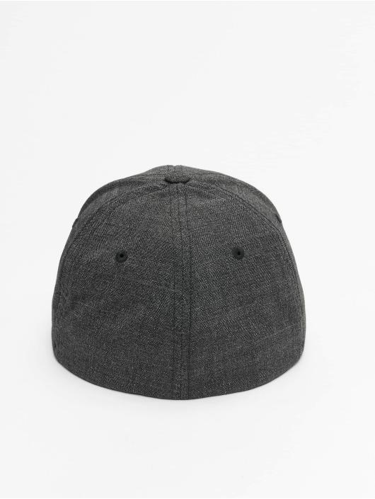 Flexfit Flexfitted Cap Fine Melange black