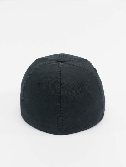 Flexfit Flexfitted Cap Garment Washed Cotton Dat black