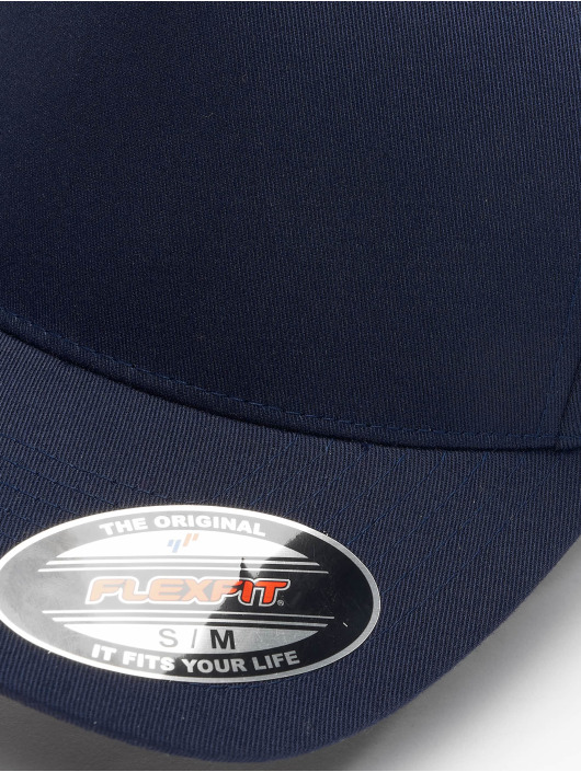 Flexfit Flexfitted Cap 5 Panel blue